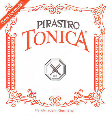 Tonica violin strings set 4/4 size (G-D-A-E strings) new formula free postage