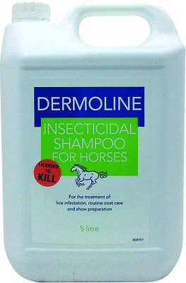 Dermoline Dermoline Insecticidal Shampoo 5lt Pest Fly Louse Insect Control Pesti
