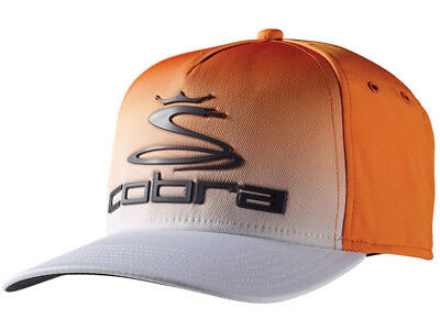 Cobra Tour Fade Cap - Vibrant Orange/White