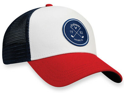 Callaway Trucker Cap - White/Red