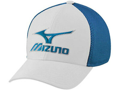 Mizuno Phantom Cap - White/Royal