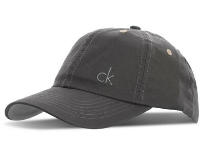 Calvin Klein Vintage Twill Cap - Charcoal