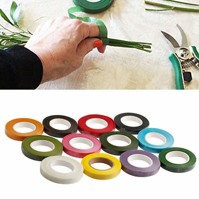 Florist Floral Stem Garland Tapes Artificial Flower Stamen Wrap Decor DIY EC