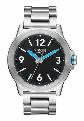 Mm Steel Watch Nixon 44 Cardiff Stainless A952018 Men's Seller 00 NewUsa nvN8mOy0w