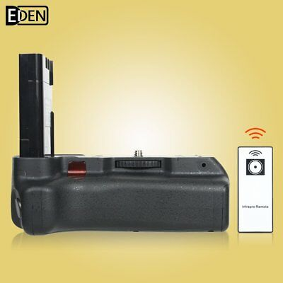 IR Remote Battery Grip MB-D5000 for Nikon D5000 D3000 D60 D40 DSLR Camera
