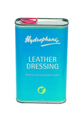 Hydrophane Leather Dressing 1lt Horse Riding Leather Care Equine