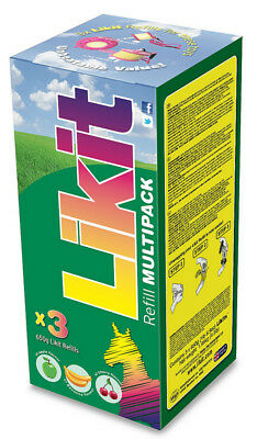 Likit Multipack 3 Pack Horse Equine Treats Chews
