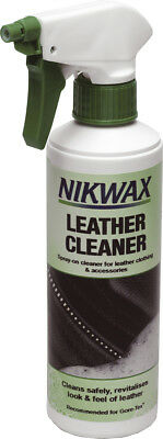 Nikwax Nikwax Leather Cleaner 300ml Horse Riding Leather Care Equine