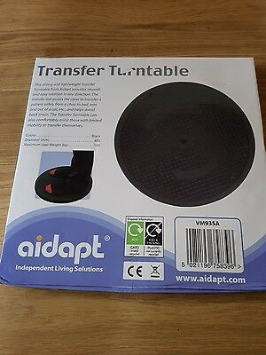 Aidapt Stand on Transfer Swivel Turntable Rotates 360° for Patient handling