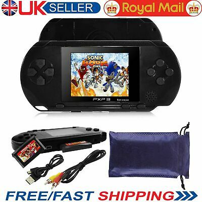 PXP 3 Portable Handheld Video Game Console 16 Bit Retro Megadrive Video game PVP