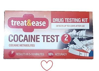 Cocaine Test Drug Testing Kit Home Accurate Results Screening Detector