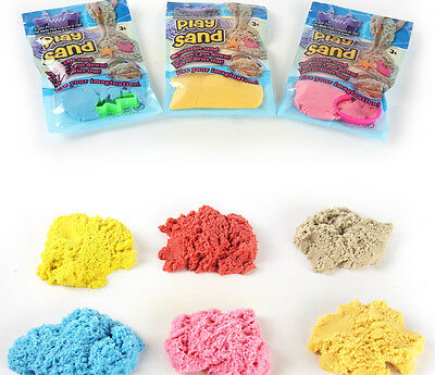 100g Kinetic Sand Magic Play Craft Diy Indoor  Motion Colorful Kid  Dynamic Toys