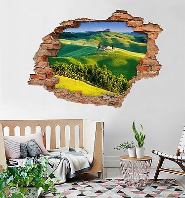 3D Hilly Lawn 342 Wall Murals Wall Stickers Decal Breakthrough AJ WALLPAPER AU
