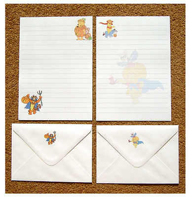 Halloween Winnie the Pooh Tigger Piglet Letter Writing Paper Stationery Set