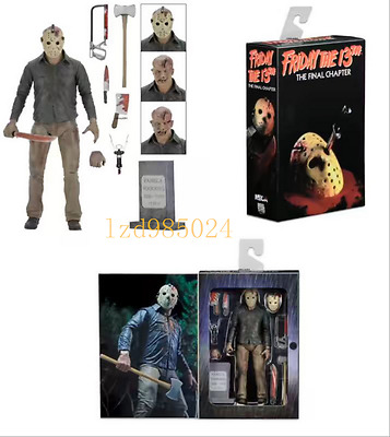 "NECA Friday the 13th THE FINAL CHAPTER JASON VOORHEES 7"" Action FIGURE # A"