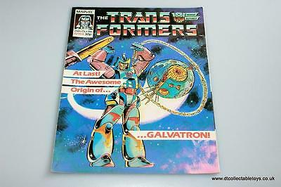 Transformers G1 UK Marvel Comic Issue #84 25th Oct. '86 RARE
