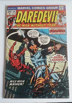 Daredevil #111 - 1st appearance of Silver Samurai - Marvel Comics