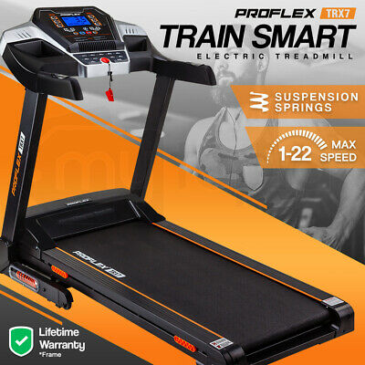 NEW PROFLEX TRX1 Electric Treadmill Exercise Fitness Machine Home Gym Equipment