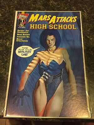 MARS ATTACKS HIGH SCHOOL #1 TOPPS COMICS Zorro Promo 1 Of 2 NM