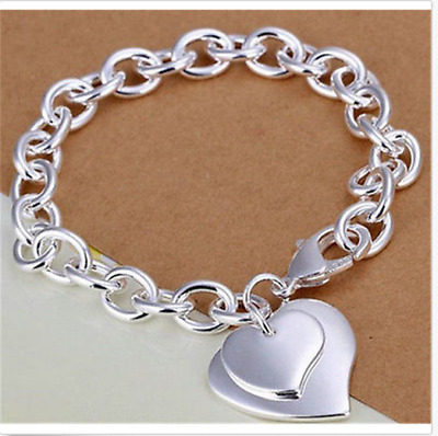 Wholesale new fashion gift jewelry Solid925 silver bracelet Christmas present