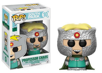 South Park TV Series Professor Chaos Vinyl POP! Figure Toy #10 FUNKO NEW MIB