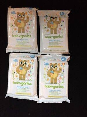 Babyganics Hand & Face Wipes, Fragrance Free, 120 Ct, Free Shipping