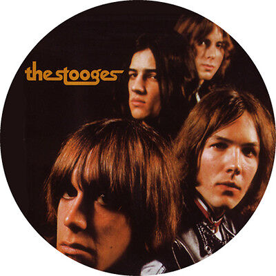 CHAPA/BADGE THE STOOGES . iggy pop ron asheton mc5 detroit punk sonics garage