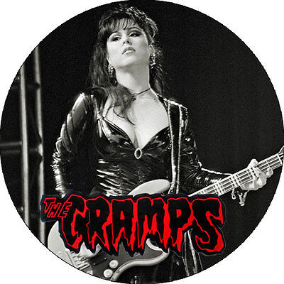 CHAPA/BADGE THE CRAMPS Candy Del Mar . pin lux interior poison ivy psychobilly