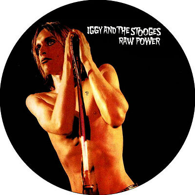 IMAN/MAGNET IGGY AND THE STOOGES Raw Power . punk james williamson ron asheton