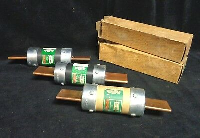 Bussmann * FRN 400 * Dual Element Fuse * (LOT OF 3) * 250 VAC * FUSETRON {NEW}