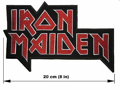 IRON MAIDEN logo BACK PATCH embroidered NEW heavy metal