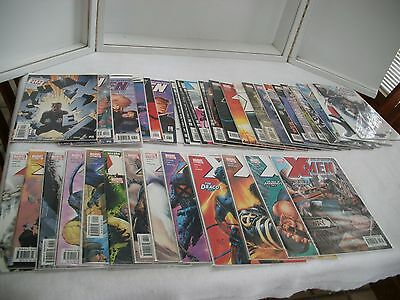 Uncanny X-Men Marvel Comic Lot 401 - 436 Complete run w/variant  ~37 issues  NM