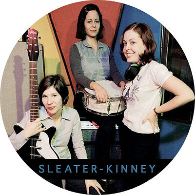 CHAPA/BADGE SLEATER-KINNEY . pin button elastica buggy bear l7 hole pixies rem