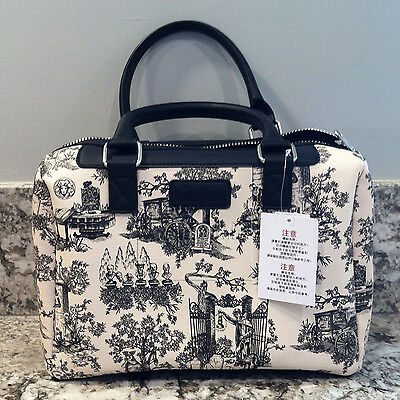 Disney Parks Haunted Mansion Purse w/ Graveyard Character Print from Disneyland