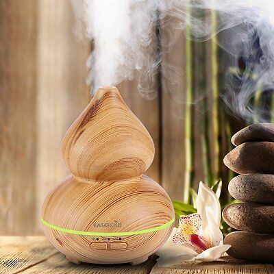 Easehold Ultrasonic Aroma Diffuser Humidifier Oil Mist Aromatherapy Air Purifier