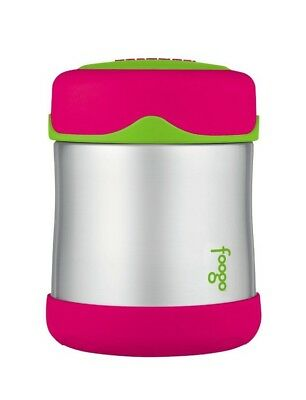 THERMOS FOOGO Vacuum Insulated Compact Stainless Steel 10-Oz Food Jar BPA Free