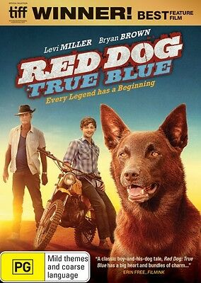 RED DOG 2:True Blue-Region 4-Levi Miller, Bryan Brown-New AND Sealed