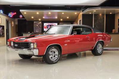 1972 Chevrolet Chevelle  Frame Off, Rotisserie Restored! GM 502ci V8 Crate Engine, Automatic, PS, PB
