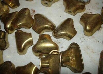 Vintage Brass Drawer Cabinet Pulls Knobs Handles Lot Of 10