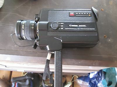 CANON 310XL SUPER 8 Movie Camera C8 Lens and instructions