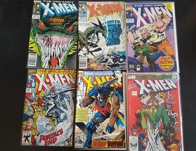 UNCANNY X-MEN and xmen related comic lot