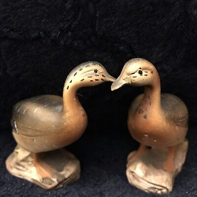Collectable, Porcelain , Mallard, Salt and Pepper Shakers