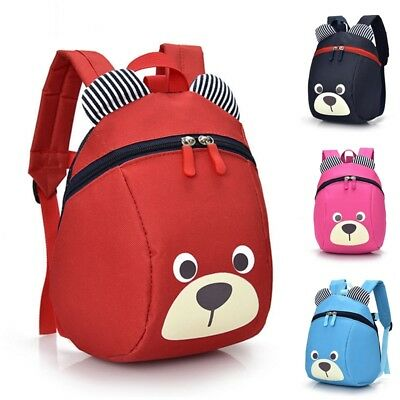 4 Color 3D Cartoon Backpacks for Baby Boys Baby Girls Lovely Book Bags New