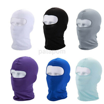 Outdoor Ski Motorcycle Cycling Balaclava Full Face Mask Neck Ultra Thin AU