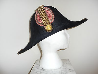 Very Rare Danish Navy Officer Bicorn Hat – early 19th Cent