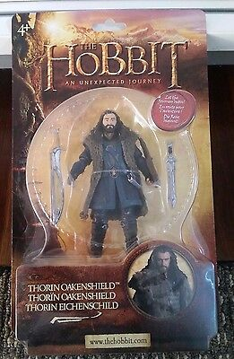 """RARE THE HOBBIT 6"""" Scale THORIN OAKENSHIELD Sealed On Card Lord of the Rings"""