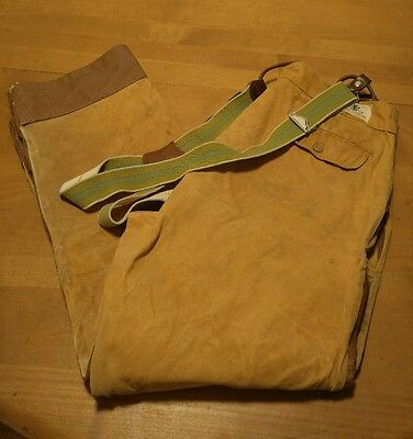 Vintage Black Sheep Hunting Pants Canvas Vinyl  Size 34x28 Brown