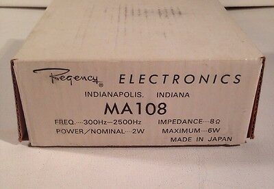 Regency Electronics External Speaker MA108 NOS