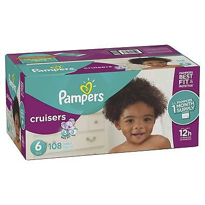 ***NEW*** Pampers Swaddlers Diapers Size 2, 132 Count ***FREE SHIPPING***