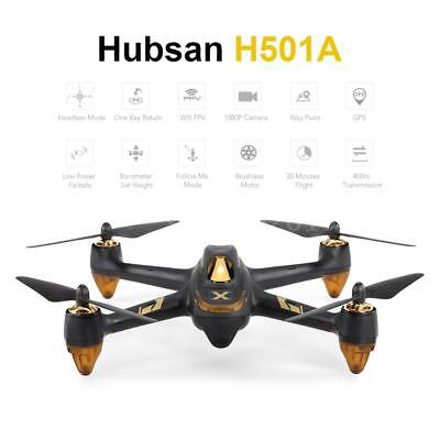 GPS Drone Hubsan H501A X4 Air Pro Wifi FPV RC Quadcopter with Wifi Relay J3O3